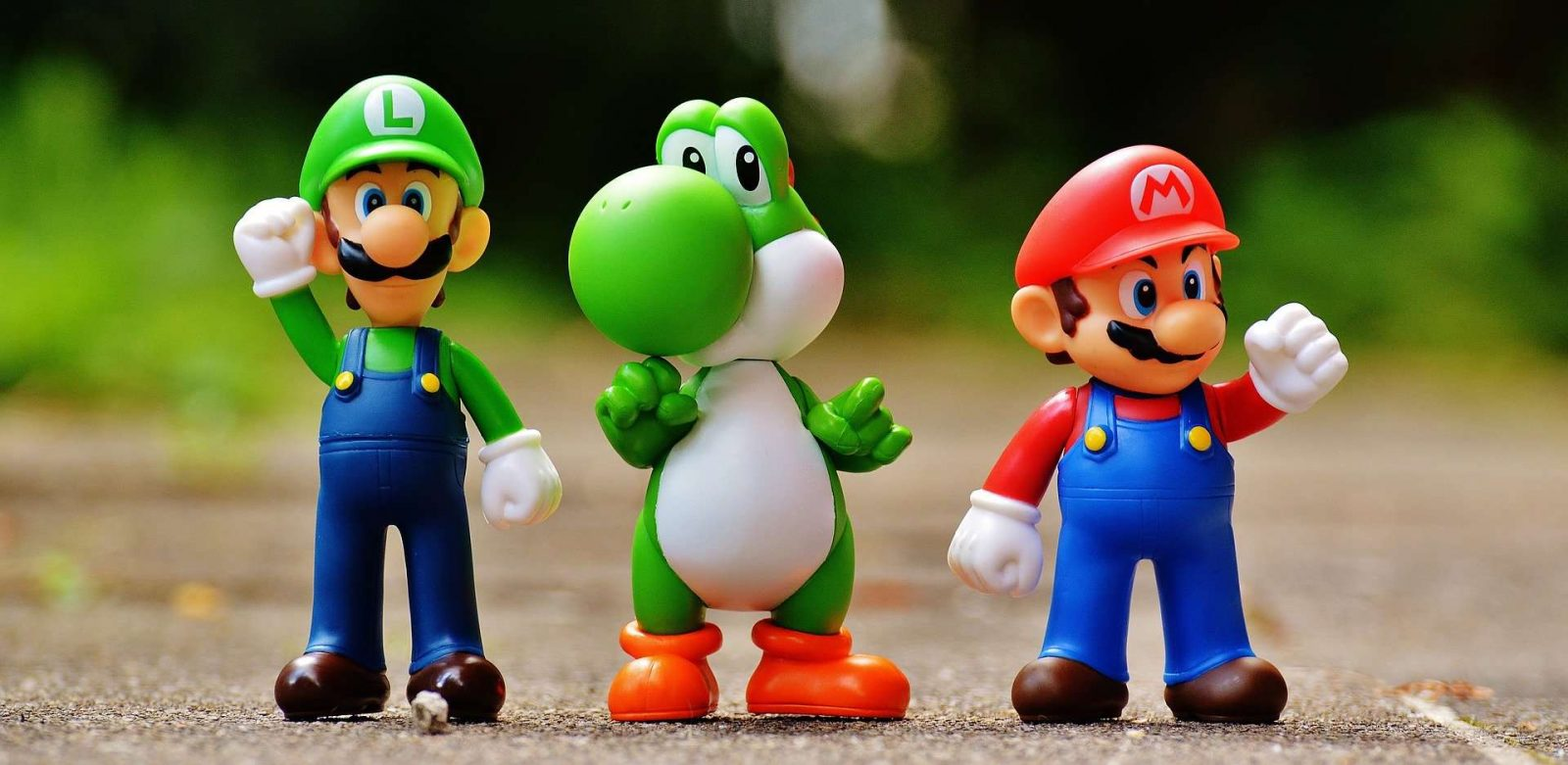 Image of Super Mario Bros Toys