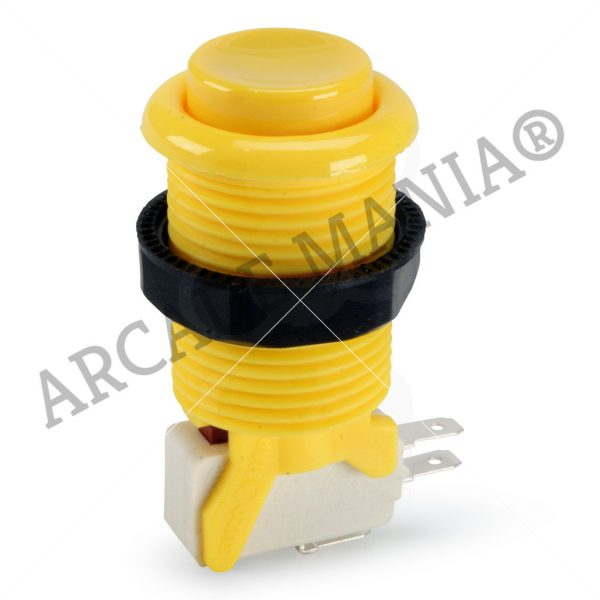 Image of Yellow Suzo Happ Concave Button