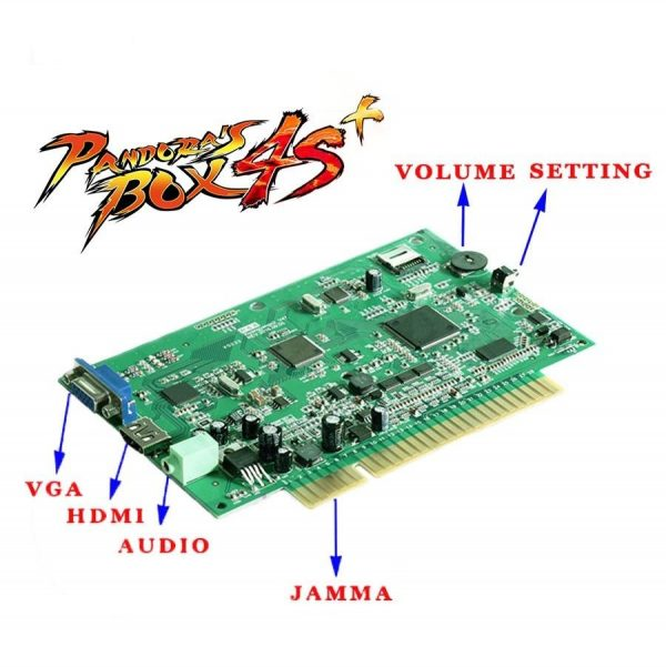 Image of Pandoras 4s Circuit Board