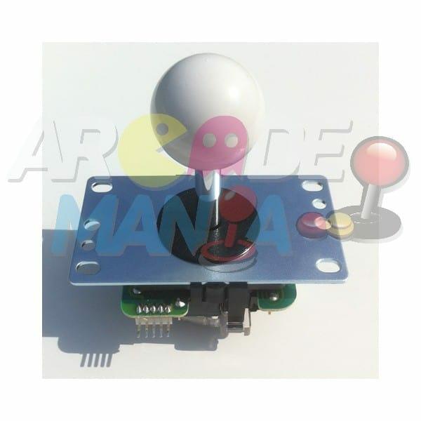 Image of White Balltop Joystick