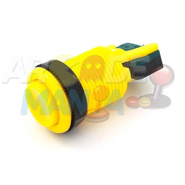 Image of Yellow Concave Button