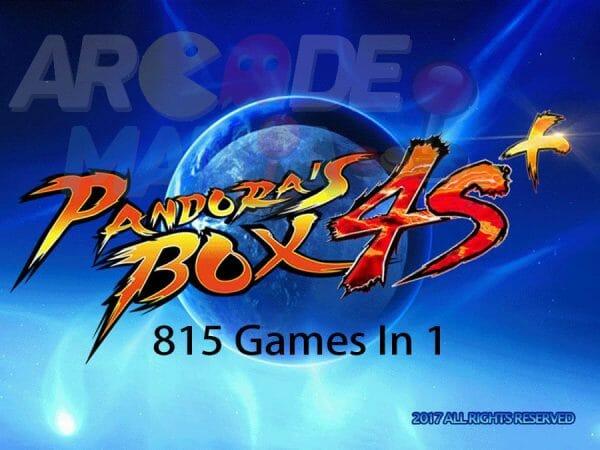 Image of Pandora's Box 4s Plus HD 815 in 1