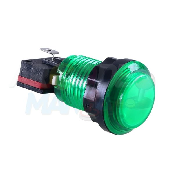 Image of Green LED Button