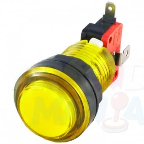 Image of Yellow LED Button
