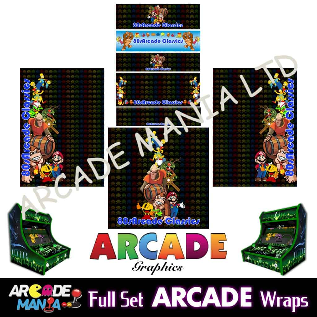 Image of 80s Arcade Classic Graphics