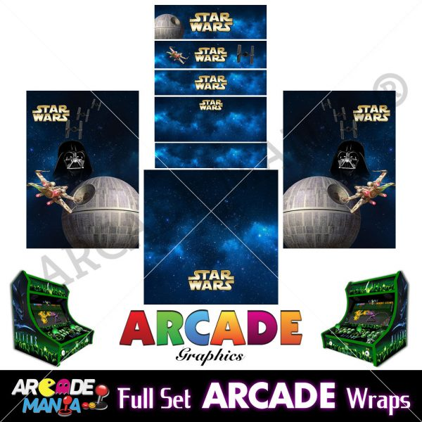 Image of Star Wars Arcade Machine Graphics Wraps