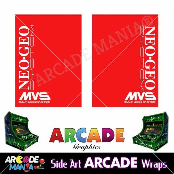 Image of Neo Geo (Red) Arcade Machine Graphics Wraps