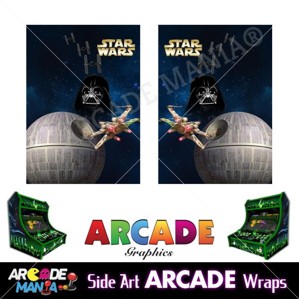 Image of Star Wars Arcade Machine Graphics Wraps
