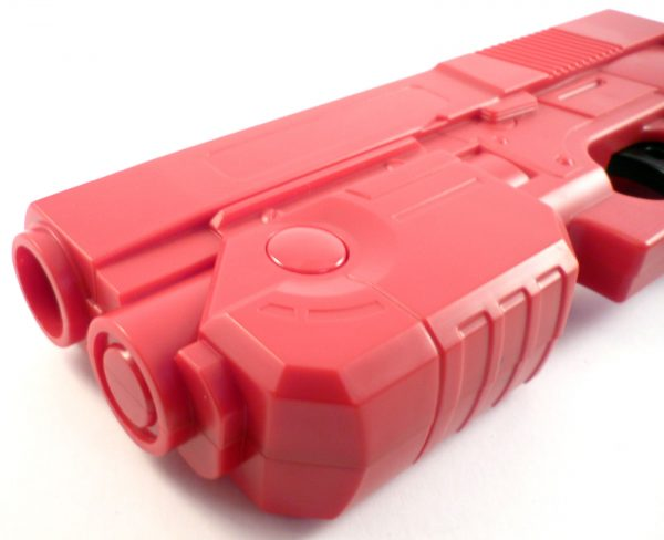 Red Aim Trak Arcade Light Gun With Line Of Sight Image