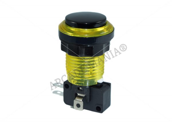 Image of Yellow Eclipse LED Button