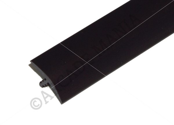 Black 3 Quarter Inch T-Molding 19.5mm Trim Image