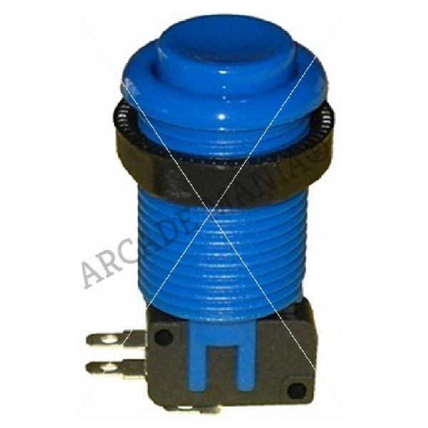Image of Blue Suzo Happ Concave Button