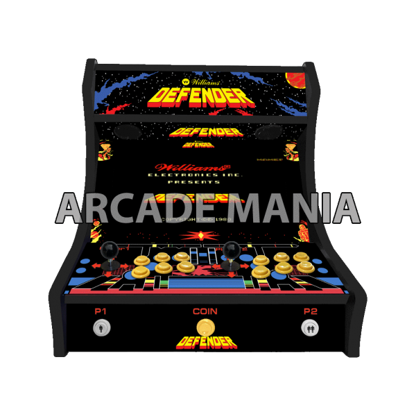 Image of Defender Bartop Arcade Machine
