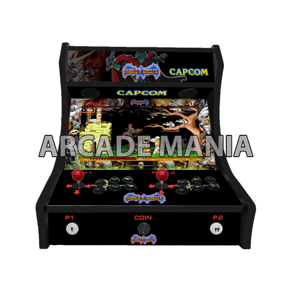 Image of Ghouls & Ghosts Bartop Arcade Machine