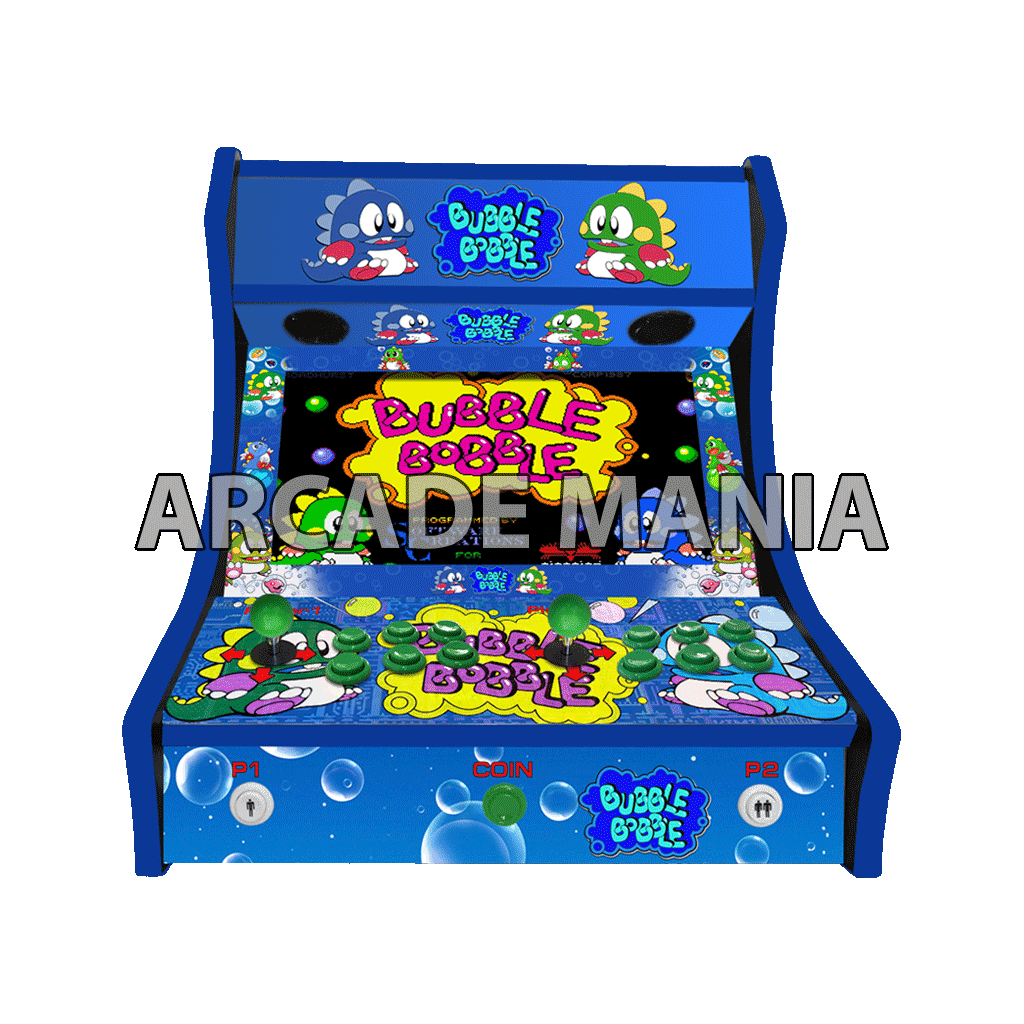 Image of Bubble Bobble Bartop Arcade Machine