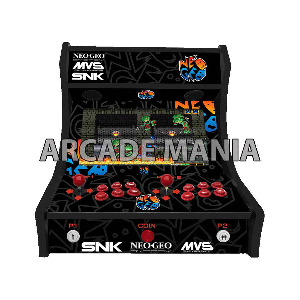 Image of Neo Geo Black Bartop Arcade Machine