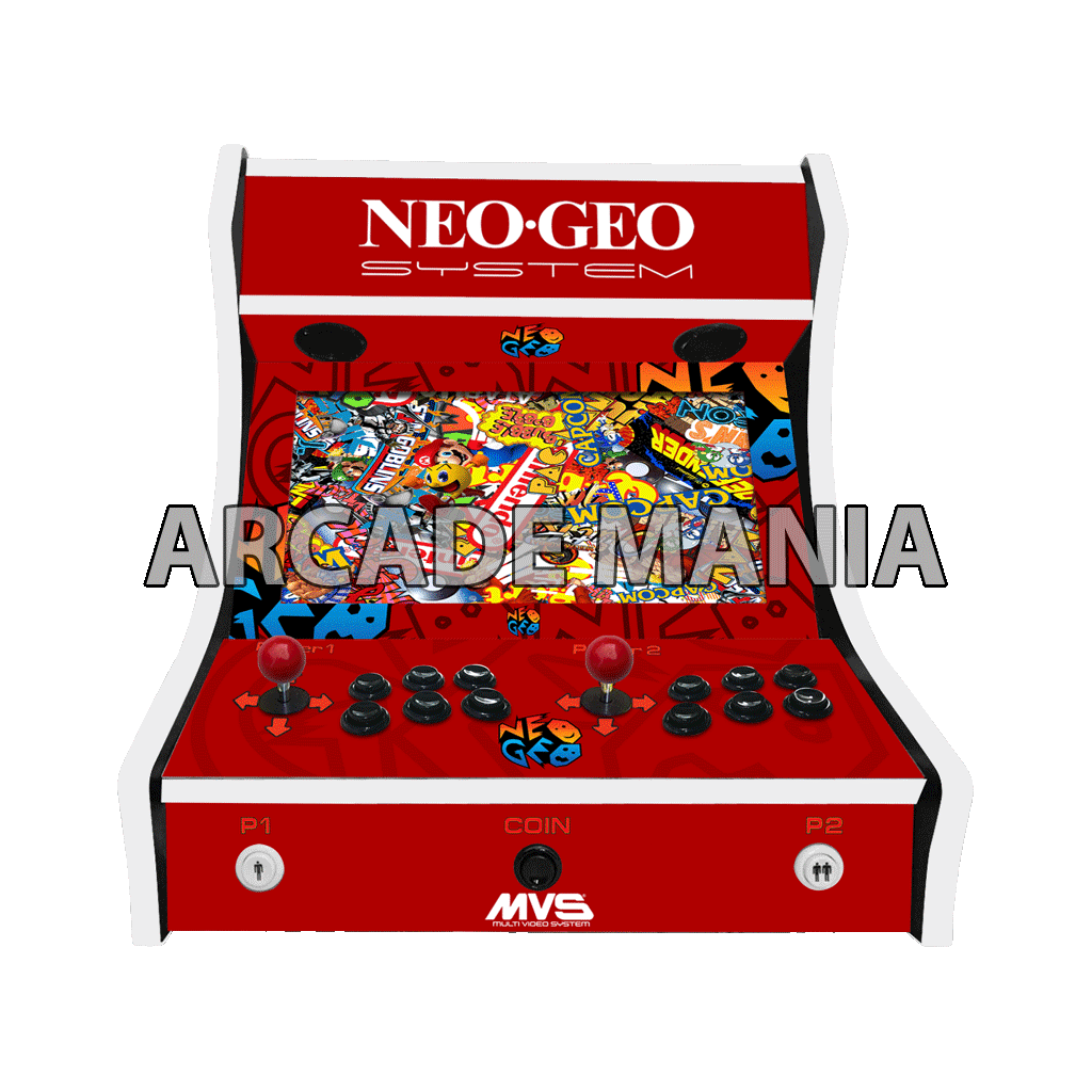 Image of Neo Geo Red Bartop Arcade Machine