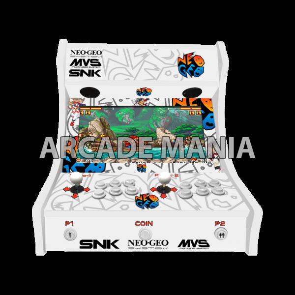 Image of Neo Geo White Bartop Arcade Machine