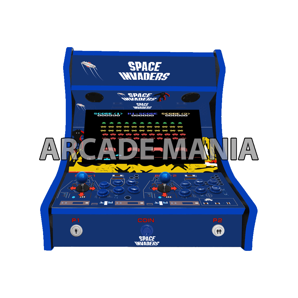 Image of Space Invaders Bartop Arcade Machine