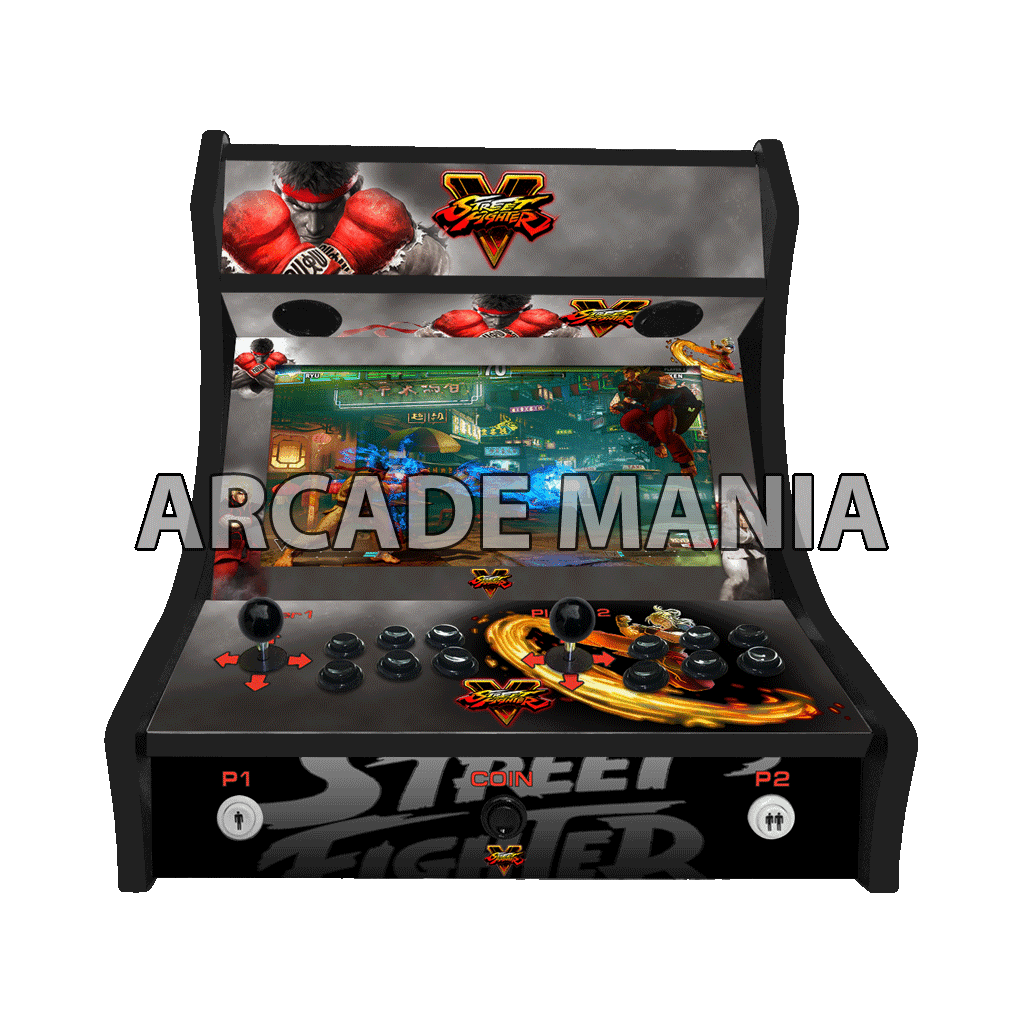 Image of Street Fighter V Bartop Arcade Machine
