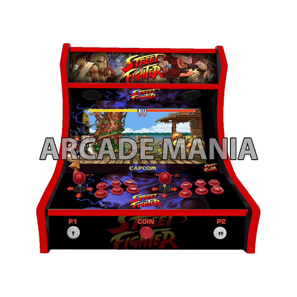 Image of Street Fighter Bartop Arcade Machine