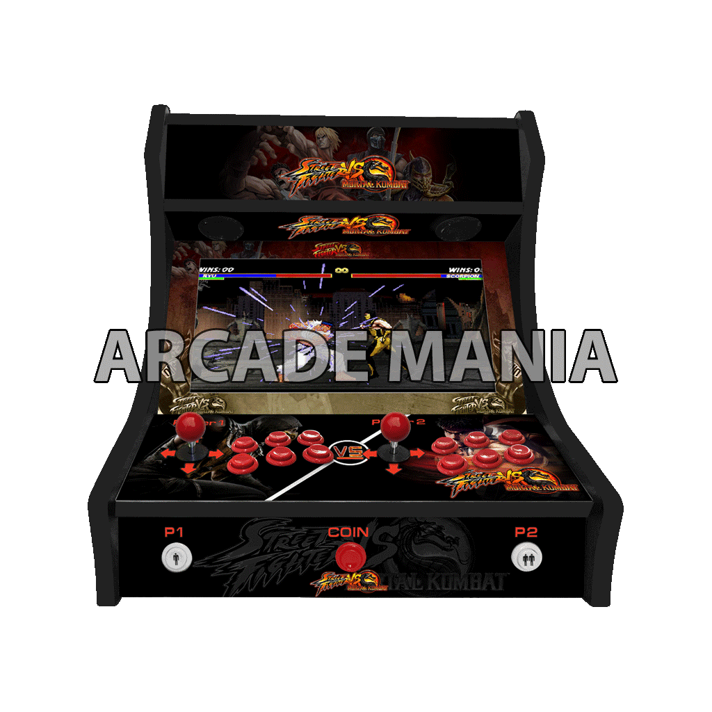 Image of Street Fighter vs Mortal Kombat Bartop Arcade Machine
