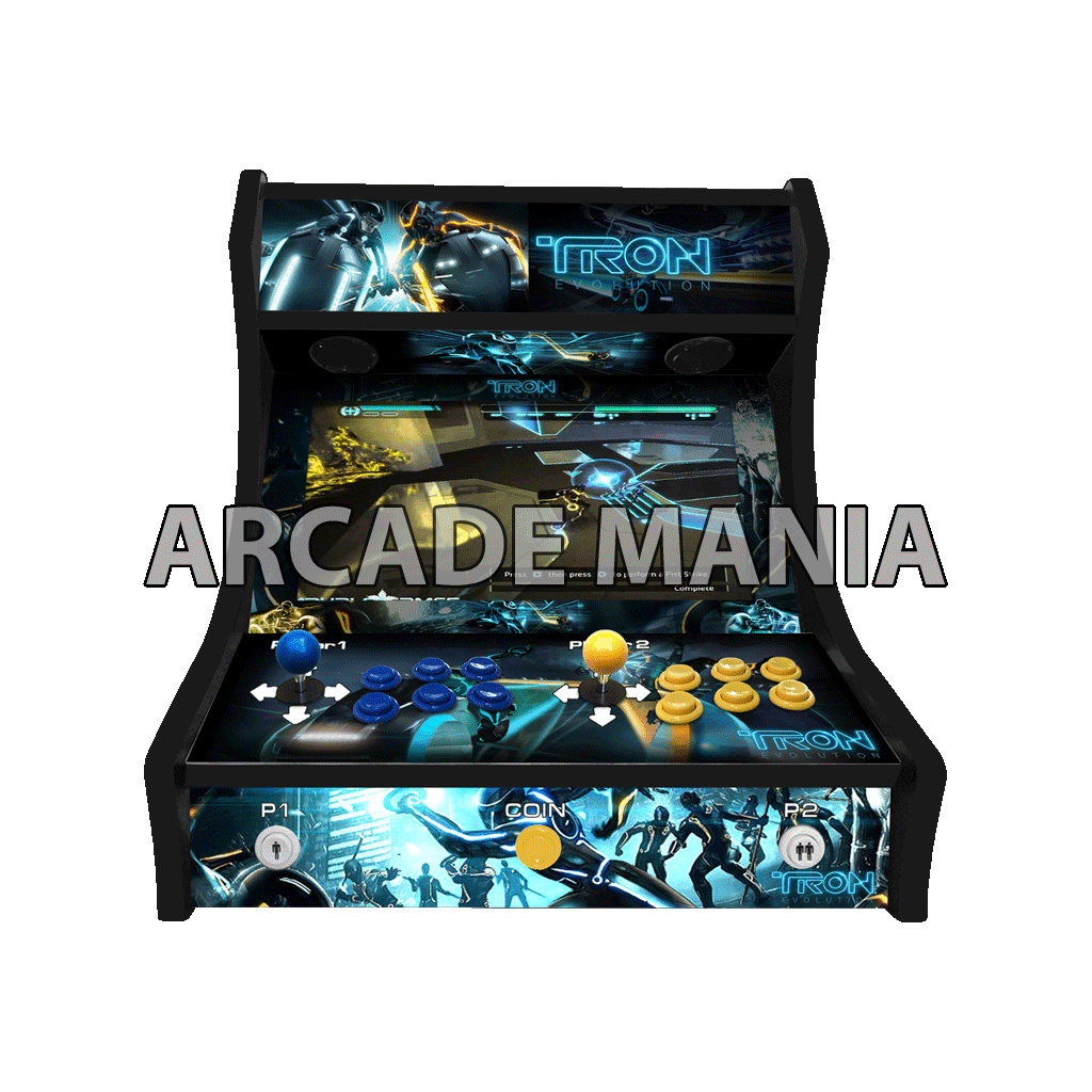 Image of Tron Bartop Arcade Machine